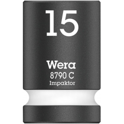 "WERA Impakt/SlagmoerDop 15.0 x38.0 mm-1/2""-aandrijving"