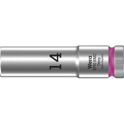 """WERA 8790 HMC Lange Dop 14.0 x83.0 mm- """"Deep Socket""""-1/2""""-aandrijving"""