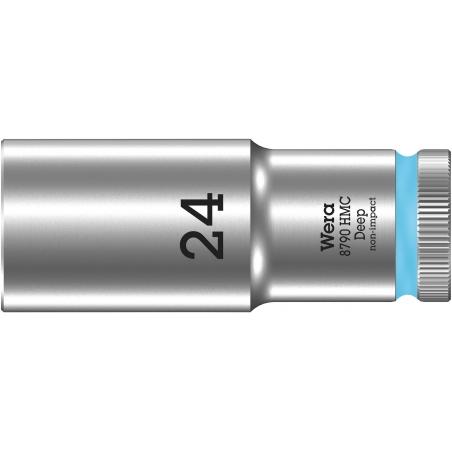 """WERA 8790 HMC Lange Dop 15.0 x83.0 mm- """"Deep Socket""""-1/2""""-aandrijving"""