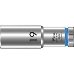 """WERA 8790 HMC Lange Dop 19.0 x83.0 mm- """"Deep Socket""""-1/2""""-aandrijving"""