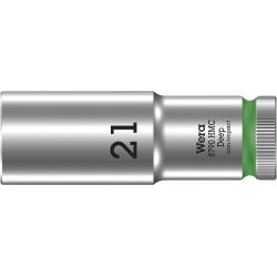 """WERA 8790 HMC Lange Dop 21.0 x83.0 mm- """"Deep Socket""""-1/2""""-aandrijving"""