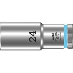 """WERA 8790 HMC Lange Dop 24.0 x83.0 mm- """"Deep Socket""""-1/2""""-aandrijving"""