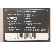 WERA Bit-check BC 30 Diamond 1, 30-delig