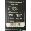 WERA Kraftform Kompakt 20 Tool Finder 1