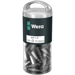 WERA TORX® TX 20 Z-bits 867/1 DIY 100 stuks