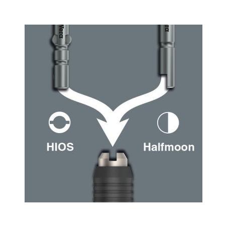 WERA 1013 Micro ESD half-moon bit-handhouder