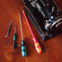 WERA Singer gereedschapset(onderhoud/reparatie)