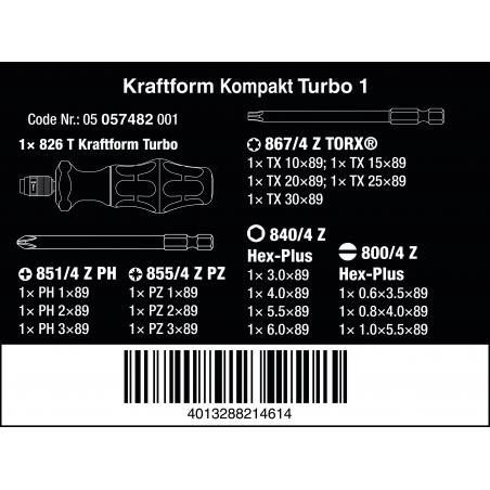 WERA Kraftform Turbo 1