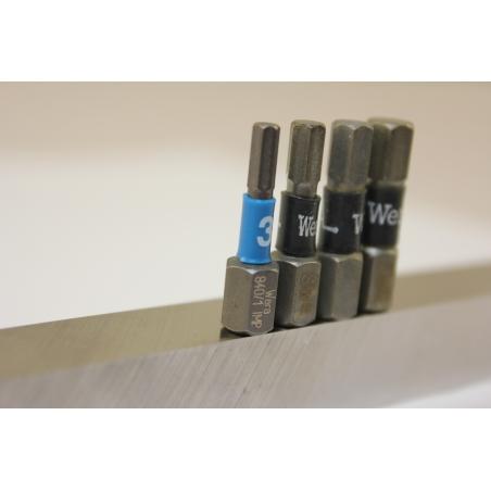 WERA zeskant(inbus) 4 mm impaktor 840/1 IMP DC IMPAKTOR hexa-Bit