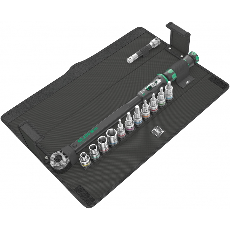WERA Click-Torque C 3 Momentsleutel Set 1 40-200 Nm