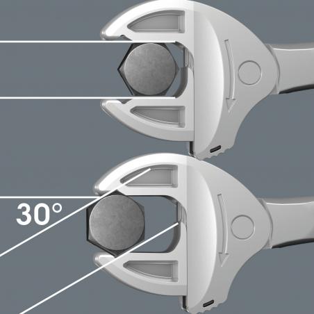 "WERA  6004 Joker  4-delige Set Zelfinstellend steeksleutelset 7-19 mm(1/4""-3/4"")"