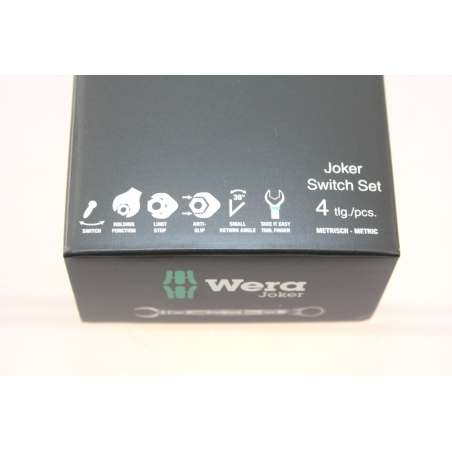 WERA Joker Switch Set 4-delig