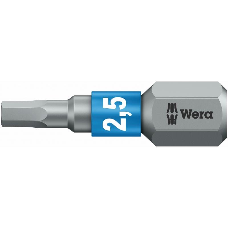WERA Inbus BiTorsion bit  840/1 BTZ / 5.5 X 25 mm