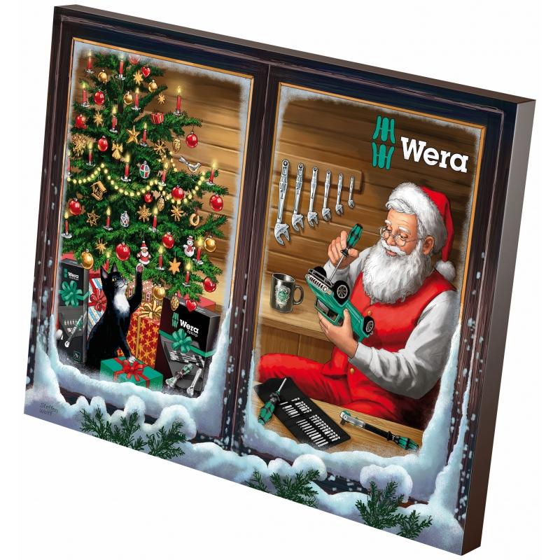 WERA Advents kalender 2021. De 24-delige Micro-versie