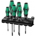 WERA 367/6 Schroevendraaierset Kraftform Plus TORX® + houder