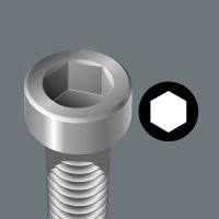 WERA zeskant(inbus) 5 mm impaktor 840/4 IMP DC IMPAKTOR hexa-Bit lang
