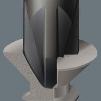 WERA Kraftform Comfort Sleuf 0.4x2.0x60 Electriciën-kling