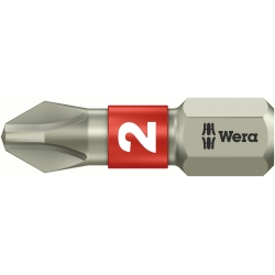 WERA Phillips PH 2 RVS Kruis-bit