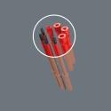 WERA PZ 1 Pozidriv kruiskop-kling Extra Slim Kraftform Kompakt VDE 65 iS