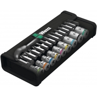 WERA Zyklop Metal-ratelset  8100 SA Switch 1/4""
