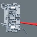 WERA PZ/S 1 Extra Slim Pozidriv Kruiskop/Sleuf-kling Kraftform Kompakt VDE 65 iS PZ/S
