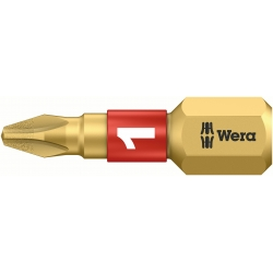 WERA Philips PH 1 Diamond Coated BDC / PH 1 X 25 Kruis-bit