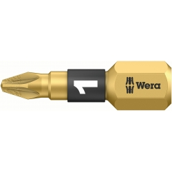 WERA Pozidriv PZ 1 Diamond Coated 855/1BDC Kruis-bit