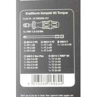 WERA Kraftform Kompakt 60 torque 1,2- 3,0 Nm.