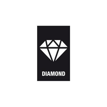 WERA Philips PH 3lang Diamond Coated BDC / PH 3 X 50 Kruis-bit