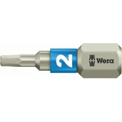 WERA Inbus/HEX RVS 2 mm