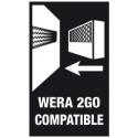 WERA 2GO , Klittenbandset 2 50x120 mm