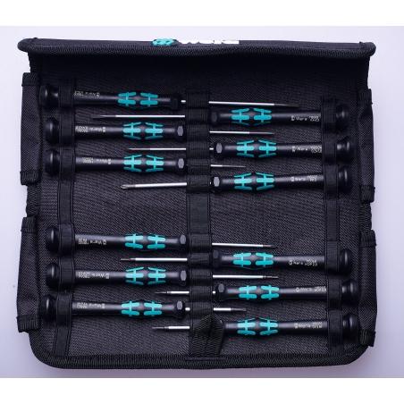WERA Kraftform Micro-Set/12 SB.