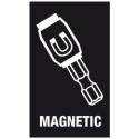 WERA Dopbit magnetisch 8.0 mm