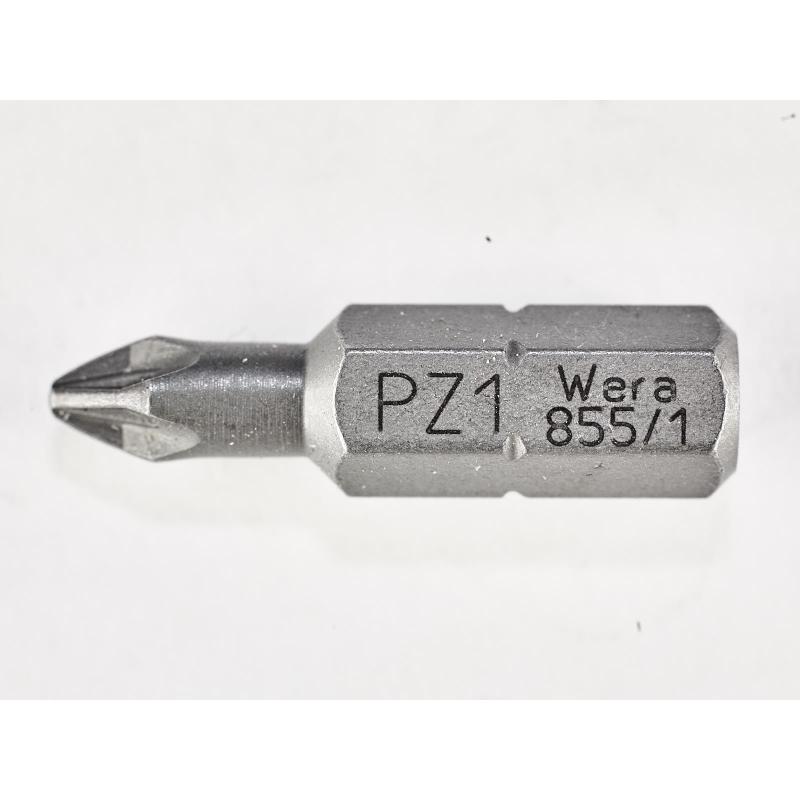 WERA Kruiskop PZ 1 Z-bits 855/1 Phillips