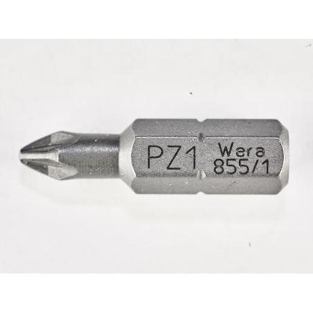 WERA Kruiskop PZ 1 Z-bits 855/1 Pozidriv