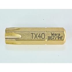 WERA TORX®HF TX40 867/1 vasthoudfunctie