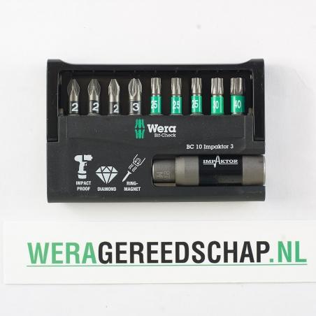 WERA Bit-Check BC 10 Impaktor 3