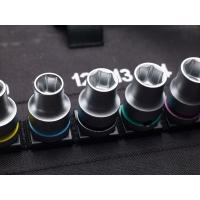 """8100 SC  Zyklop Metal-ratelset, 1/2""""-aandrijving, metrisch"""