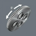 "WERA 8001 A Zyklop Mini Speed ratel 1/4""."