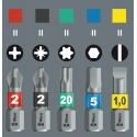 WERA Pozidriv PZ 2 IMPAKTOR 855/1 Bit-Box 15 stuks