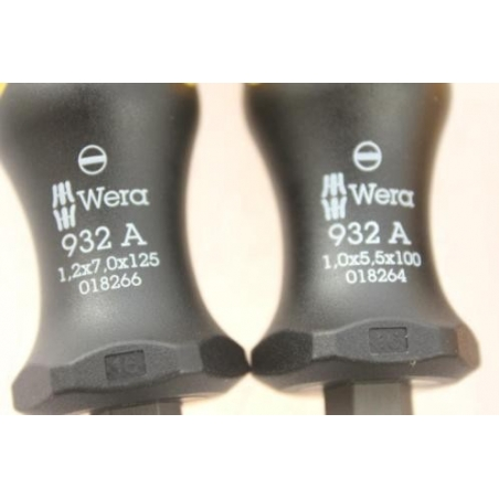 WERA Big Pack 900 Schroevendraaierset 14-delig Kraftform Wera