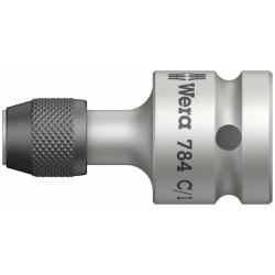 "WERA Zyklop Adapter, 1/2"" 784 C/1 extra sterk"