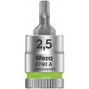"""WERA Inbus Bitdop 5.0x28.0 mm-1/4"""""""