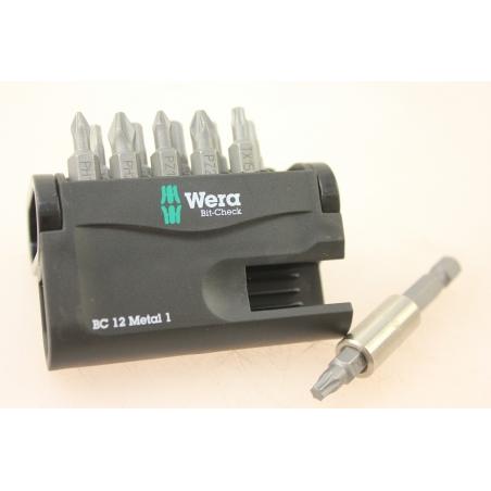 WERA Bit-Check BC 12 Metal 1