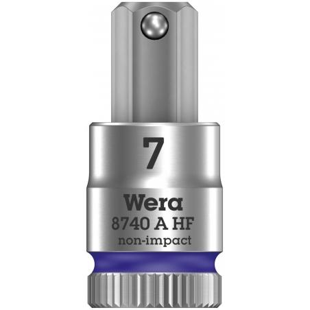 """WERA Inbus Bitdop 7.0x28.0 mm- 1/4""""-aandrijving"""