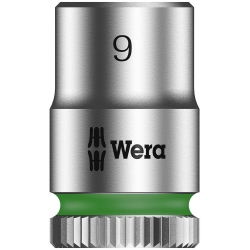 "WERA Dop 9.0 x23.0 mm- 1/4"""
