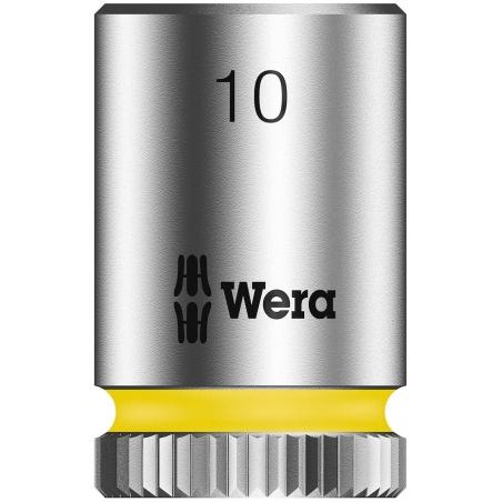 """WERA Dop 10.0 x23.0 mm-1/4""""-aandrijving"""