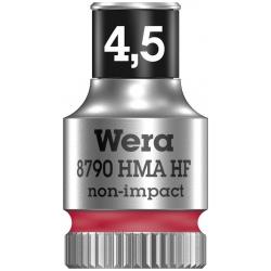 """WERA Dop met vasthoudfunctie 4.5- 1/4"""""""
