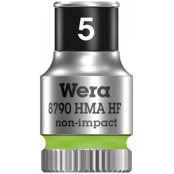 """WERA Dop met vasthoudfunctie 5.0 mm HF 1/4""""-aandrijving"""