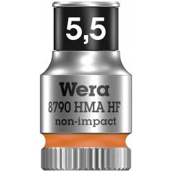 """WERA Dop met vasthoudfunctie 5.5- 1/4"""""""